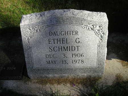 SCHMIDT, ETHEL G - Bremer County, Iowa | ETHEL G SCHMIDT