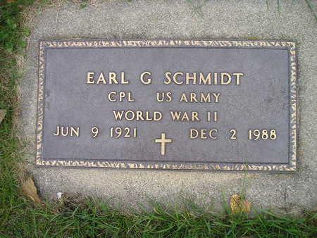 SCHMIDT, EARL G - Bremer County, Iowa | EARL G SCHMIDT