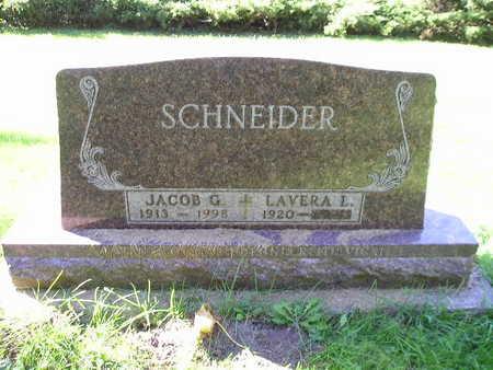 SCHNEIDER, JACOB G - Bremer County, Iowa   JACOB G SCHNEIDER