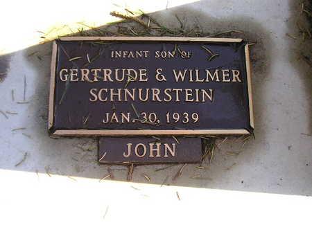 SCHNURSTEIN, JOHN - Bremer County, Iowa | JOHN SCHNURSTEIN