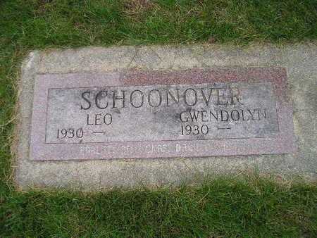 SCHOONOVER, LEO - Bremer County, Iowa   LEO SCHOONOVER