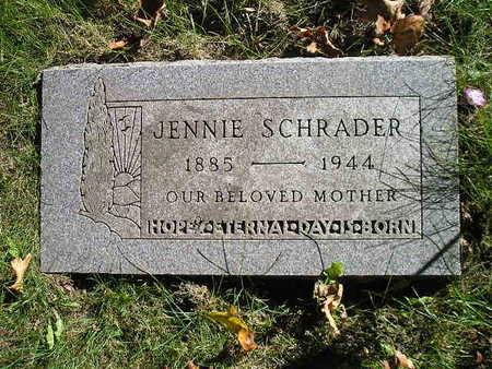 SCHRADER, JENNIE - Bremer County, Iowa | JENNIE SCHRADER