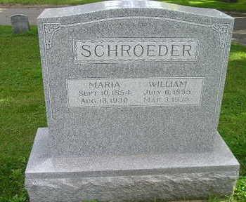 SCHROEDER, WILLIAM - Bremer County, Iowa   WILLIAM SCHROEDER