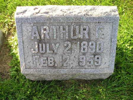 SCHROEDERMEIER, ARTHUR F - Bremer County, Iowa | ARTHUR F SCHROEDERMEIER