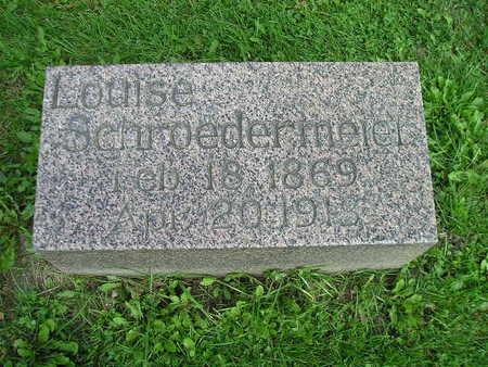 SCHROEDERMEIER, LOUISE - Bremer County, Iowa | LOUISE SCHROEDERMEIER