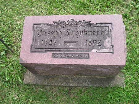 SCHUKNECHT, JOSEPH - Bremer County, Iowa   JOSEPH SCHUKNECHT