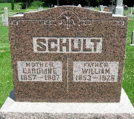 SCHULT, CAROLINE - Bremer County, Iowa   CAROLINE SCHULT