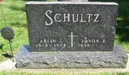 SCHULTZ, ARLIN J. - Bremer County, Iowa   ARLIN J. SCHULTZ
