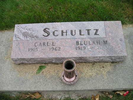 SCHULTZ, BEULAH M - Bremer County, Iowa | BEULAH M SCHULTZ