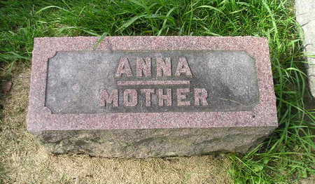 SCHULZE, ANNA - Bremer County, Iowa | ANNA SCHULZE