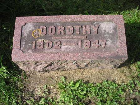 SCHULZE, DOROTHY - Bremer County, Iowa | DOROTHY SCHULZE