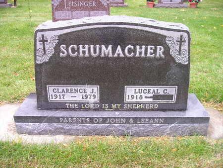SCHUMACHER, LUCEAL C - Bremer County, Iowa   LUCEAL C SCHUMACHER