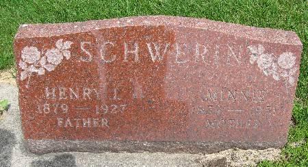 SCHWERIN, MINNIE - Bremer County, Iowa | MINNIE SCHWERIN