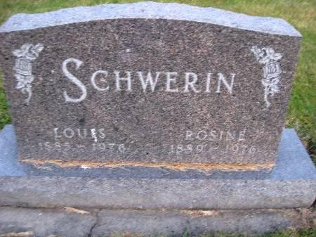 SCHWERIN, LOUIS - Bremer County, Iowa | LOUIS SCHWERIN