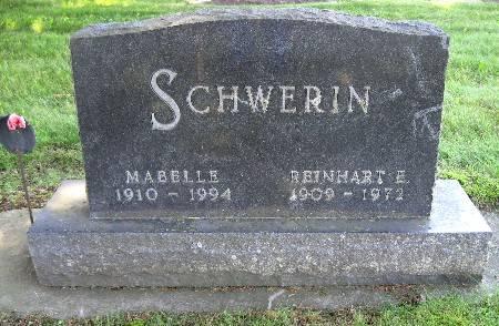 SCHWERIN, MABELLE - Bremer County, Iowa | MABELLE SCHWERIN
