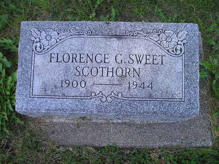 SWEET SCOTHORN, FLORENCE G - Bremer County, Iowa | FLORENCE G SWEET SCOTHORN