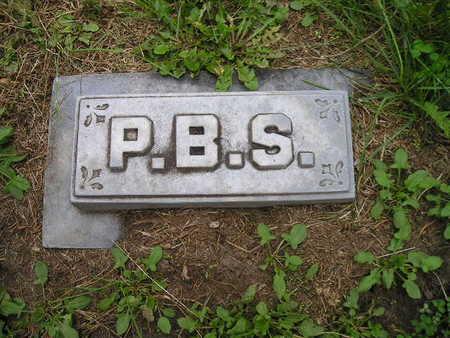 SCOTT, P B (PRIOR) - Bremer County, Iowa | P B (PRIOR) SCOTT