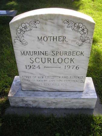 SCURLOCK, MAURINE - Bremer County, Iowa   MAURINE SCURLOCK