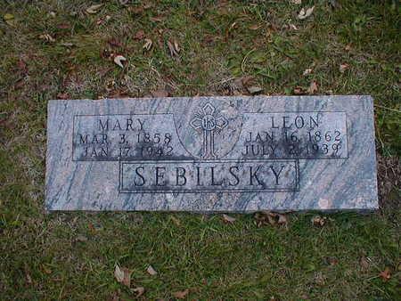 SEBILSKY, MARY - Bremer County, Iowa | MARY SEBILSKY