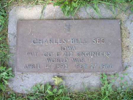SEE, CHARLES BELL - Bremer County, Iowa   CHARLES BELL SEE