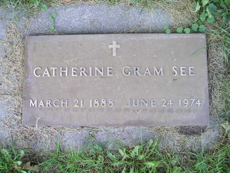 SEE, CATHERINE GRAM - Bremer County, Iowa | CATHERINE GRAM SEE