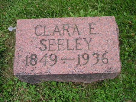 SEELEY, CLARA E - Bremer County, Iowa | CLARA E SEELEY