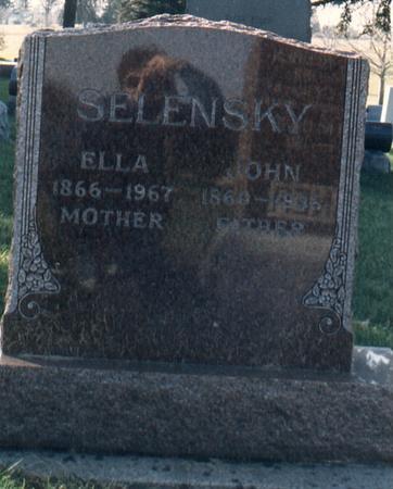 SELENSKY, JOHN - Bremer County, Iowa | JOHN SELENSKY