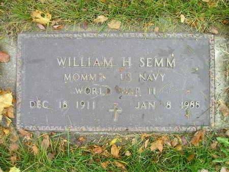 SEMM, WILLIAM H - Bremer County, Iowa | WILLIAM H SEMM
