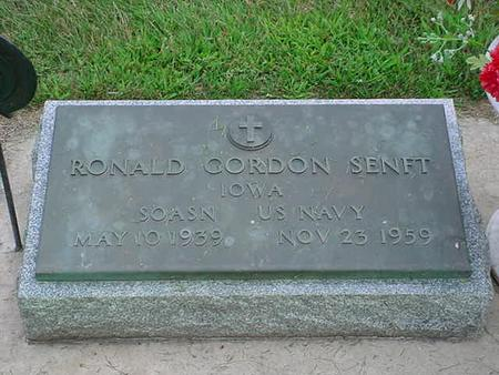 SENFT, RONALD GORDON - Bremer County, Iowa | RONALD GORDON SENFT