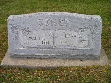 SENST, EWALD E - Bremer County, Iowa | EWALD E SENST