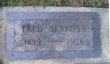 SERFOSS, FRED - Bremer County, Iowa   FRED SERFOSS