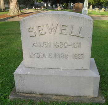 SEWELL, ALLEN - Bremer County, Iowa | ALLEN SEWELL