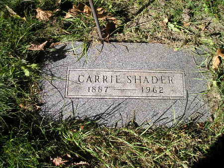 SHADER, CARRIE - Bremer County, Iowa | CARRIE SHADER