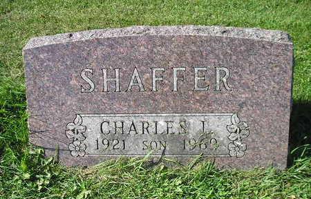 SHAFFER, CHARLES I - Bremer County, Iowa   CHARLES I SHAFFER