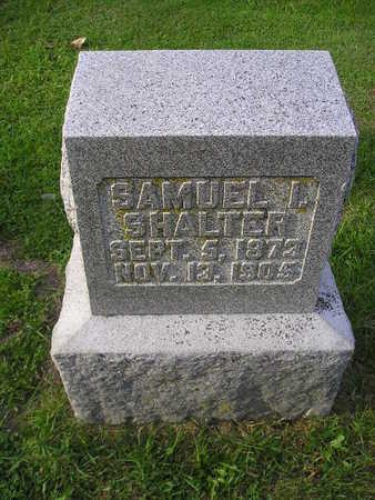 SHALTER, SAMUEL I - Bremer County, Iowa | SAMUEL I SHALTER