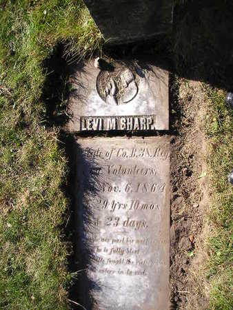 SHARP, LEVI M - Bremer County, Iowa | LEVI M SHARP