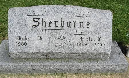 SHERBURNE, VIOLET F. - Bremer County, Iowa   VIOLET F. SHERBURNE