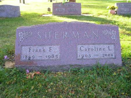SHERMAN, FRANK F - Bremer County, Iowa | FRANK F SHERMAN