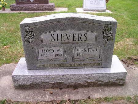 SIEVERS, LLOYD W - Bremer County, Iowa | LLOYD W SIEVERS