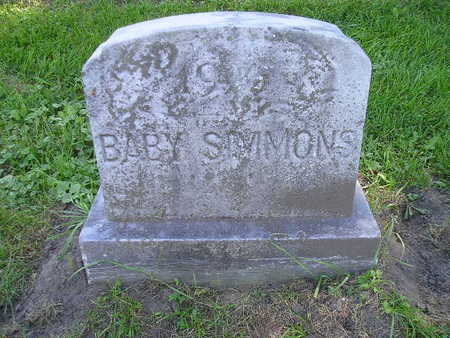 SIMMONS, BABY - Bremer County, Iowa | BABY SIMMONS