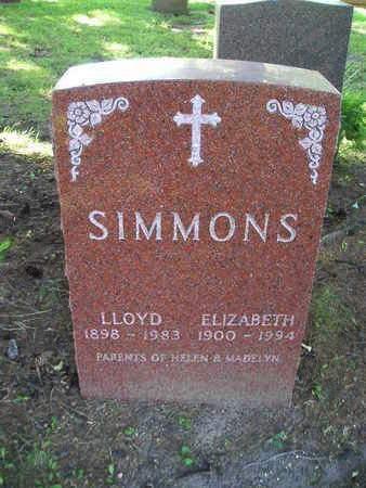 SIMMONS, ELIZABETH - Bremer County, Iowa | ELIZABETH SIMMONS