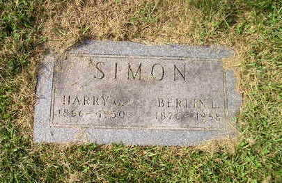 SIMON, BERLIN L. - Bremer County, Iowa | BERLIN L. SIMON