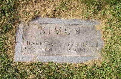 SIMON, HARRY G. - Bremer County, Iowa | HARRY G. SIMON