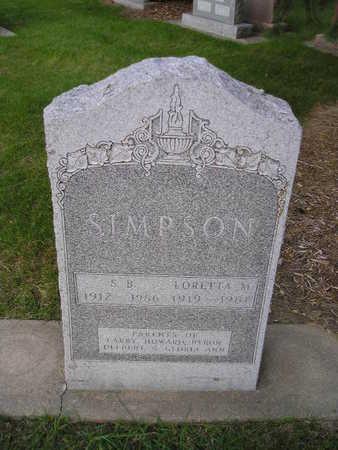 SIMPSON, LORETTA M - Bremer County, Iowa | LORETTA M SIMPSON