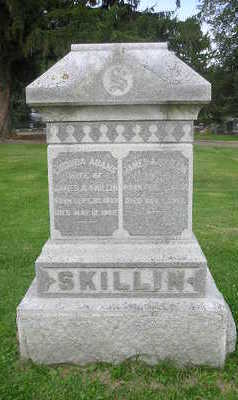 SKILLIN, LUCINDA - Bremer County, Iowa   LUCINDA SKILLIN