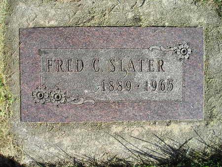 SLATER, FRED C - Bremer County, Iowa   FRED C SLATER