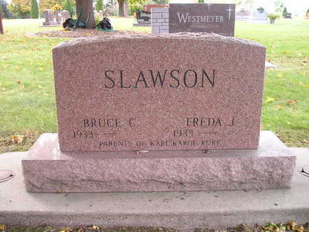 SLAWSON, FREDA J - Bremer County, Iowa | FREDA J SLAWSON