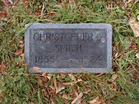 SMITH, CHRISTOPHER O - Bremer County, Iowa   CHRISTOPHER O SMITH