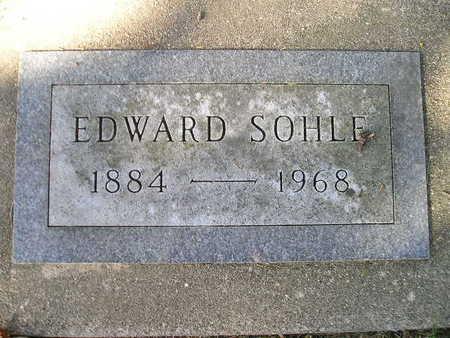 SOHLE, EDWARD - Bremer County, Iowa | EDWARD SOHLE