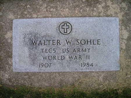 SOHLE, WALTER W - Bremer County, Iowa | WALTER W SOHLE